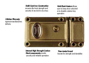 Deadbolt - Automatic Relocking-SEGAL