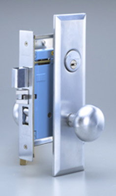 Mortise locks - KW-1753-XXX-XF-MUL-T-LOCK
