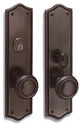 Decorative mortise locks - Barclay TM 6554 Series